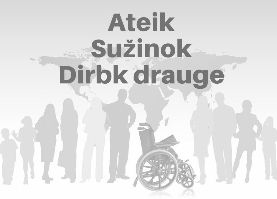 """Seminaras darbdaviams ir darbuotojams, dirbantiems su asmenimis turinčiais negalią """"Asmenų su negalia psichologiniai ir teisiniai aspektai"""""""